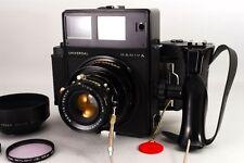 【TOP MINT】Mamiya Universal Press Black + Sekor P 100mm F3.5 6x7 from JAPAN #278