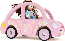 Le Toy Van SOPHIE'S CAR Wooden Dolls House Accessory Kids  BN