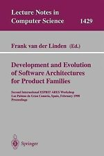 Development and Evolution of Software Architectures for Product Families :...