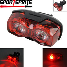 RAYPAL RPL-2230 3 Mode 1W 2 Red LED Bike Rear Light Bike Safety Flashing Lamp DE