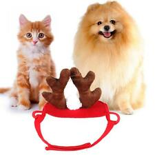 Pet Cat Dog Cap Hat For Puppy Animal Christmas Antlers Hats Fashion Costume Toy