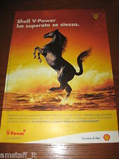*AL41= SHELL V-POWER =PUBBLICITA'=ADVERTISING=WERBUNG=COUPURE=