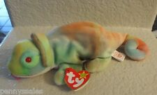 Ty Beanie Baby Rainbow 1997 5th Generation Hang Tag With Tongue