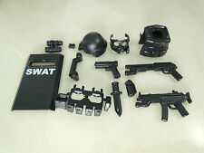 (NO.10-2) custom lego swat police helmet military gun army weapon