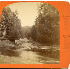 JOHN R MOORE TRENTON FALLS NEW YORK STEREOVIEW