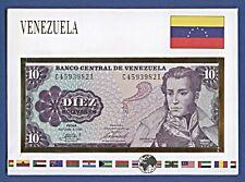 Banknotenbriefe der Welt Venezuela 10 Bolivares 1981 Geld # C45939821 NB-A12/34