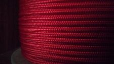 4 mm x 500 ft. Accessory Cord/Rope. Banner/Camp/Utility. 700 #. Red. US Made