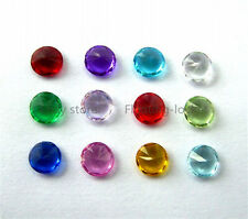 120pc Round 3mm Crystal Mixed Floating Birthstone Charms For Memory Locket BS001