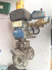 "JAMESBURY VPVL100 DA B C DOUBLE OPPOSED PISTON ACTUATOR  1 1/2"" SS BALL VALVE"