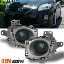 Fits 2010-2011 Toyota Prius IV JDM Smoked Bumper Fog Lights Lamps W/Bulbs+Switch