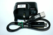 GENUINE SAMSUNG CAMERA CHARGER + USB CABLE PL20 PL22 PL100 PL121 PL150 PL200 UK