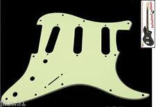 NEW PICKGUARD STRATOCASTER SSS - green - 3 ply pour Fender, Squier etc