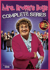 Brand New Mrs. Brown's Boys: Big Box - Series 1, 2 & 3 (DVD, 2015, 8-Disc Set)