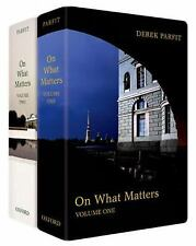 ON WHAT MATTERS [9780199265923] - SAMUEL SCHEFFLER DEREK PARFIT (HARDCOVER) NEW
