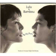 ☆ CD SINGLE Lulu GAINSBOURG & BAMBOU Ne dis rien 2-Tr ☆