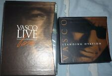 vasco box dvd standing ovation box cd standing ovation nuovi
