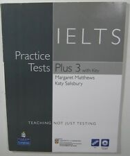 Longman Practice Tests Plus 3 IETS Margaret Matthews Katy Salisbury with key CD