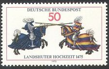 Germany 1975 Horses/Knights/Armour/Jousting/Sports/Festival/Animals 1v (n42092)