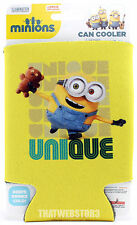 Despicable Me Minion Bob Unique Can Cooler Beer Koozie Soda Coozie ~ Licensed