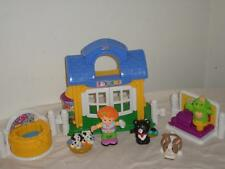Fisher Price Little People Discovery Village Pet Shop Dog Cat Bunny Grooming Lot