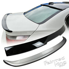 04-10 BMW E60 5-Series A Type Roof Spoiler & A Type Boot Trunk Spoiler Painted