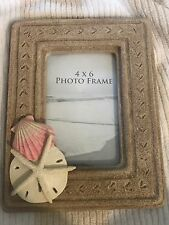 Beach Sand Dollar Shell Starfish Prints Ocean Beautiful Picture Frame #D14