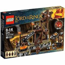 Lego Lord of the Rings 9476 Orc Forge Playset & Instructions Only No Minifigs
