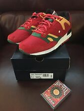 "Just Blaze X Saucony Grid SD ""Roulette"" Red/Green-Yellow S70226-1 New/Ds Sz 8"