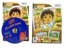 GO DIEGO MISSION SAFARI !!! Le Meilleur  Pour Les Petits sur  Wii