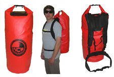 waterproof drybag wetsuit carry bag rucksack straps. 85 L carry 2 wetsuits easy