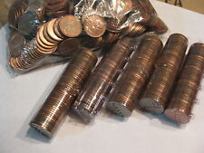 Canadian Pennies  1942,  Full Roll of 50 Pennies