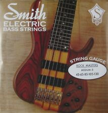 KEN SMITH RMM-5 ROCK MASTER STAINLESS STEEL BASS STRINGS, MEDIUM 5's - 45-130