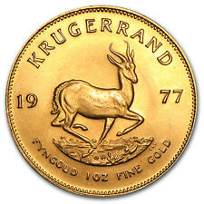 1 oz Gold South African Krugerrand (Abrasions) - SKU #50133