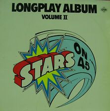 STARS ON 45-LONGPLAY ALBUM VOLUME II LP VINILO 1981 SPAIN GOOD COVER CONDITION-