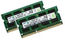 2x 4GB 8GB Notebook RAM Speicher DDR3 1600 Mhz SO-DIMM PC3-12800S Samsung