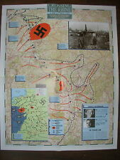 IMAGES OF WAR WWII CAMPAIGN MAP RHINE CROSSING 8 FEBRUARY TO 9 MAY 1945