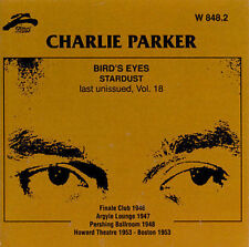 Charlie Parker - Vol. 18-Bird's Eyes [CD New]