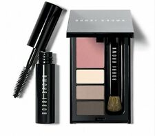 Bobbi Brown To Go Weekend Eye and Cheek Palette NIB Shadow Blush Mascara Brush