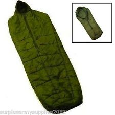 BRITISH ARMY ARCTIC SLEEPING BAG + COMPRESSION SACK EXTREME COLD WEATHER -15C