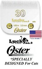 Oster Lucky No.9 Feline 30 Comb Blade CAT Grooming*Fit A5/A6,Most Andis Clipper