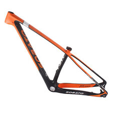 2016 Sobato mtb carbon frame 29er,MCA model carbon bike frame,size 17""