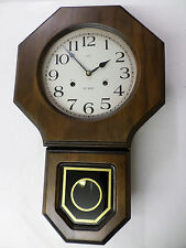 Regulator Wall Clock- Russian-  Daekor. 31 day chime, with key