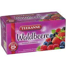 Teekanne Wild Berries/ Waldbeere - 20 tea bags- Made in Germany