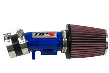 HPS SHORT RAM AIR INTAKE SYSTEM 2009-2013 HONDA FIT GE8 1.5L K&N FILTER BLUE