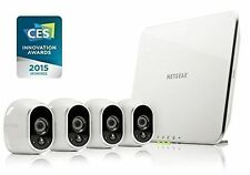 Arlo Smart Home Security Camera System / 4 HD Wire-Free Indoor/Outdoor Night