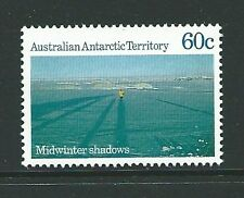 Antártico australiano Terr SG73 60c 1987 Midwinter Sombras estampillada sin montar o nunca montada