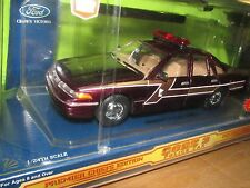 Minnesota HIGHWAY PATROL STATE TROOPER FORD CROWN VICTORIA code 3 w/ PATCH 1/24