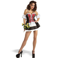Hottie Heidi Sexy Swiss Girl Adult Beer Bar Wench Adult Costume M/L 8-12