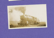 Grand Trunk Western 2-8-0 Locomotive #2668 - Vtg B&W Railroad Photo