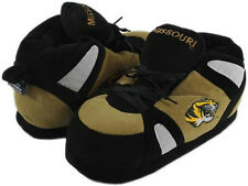 NWT Missouri Tigers High Top Sneaker Boot Slippers Comfy Feet Unisex Large